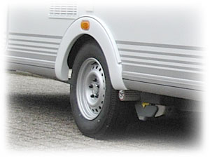 Caravan banden vervangen