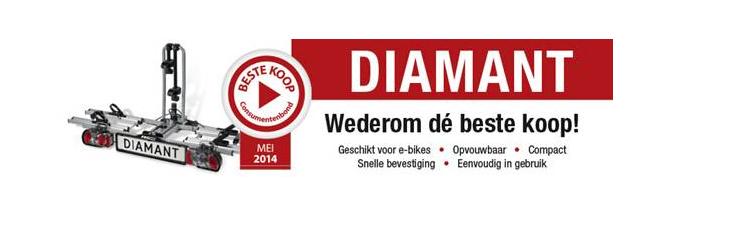 fietsdrager diamant